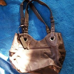 Brown Tignanello shoulder Bag